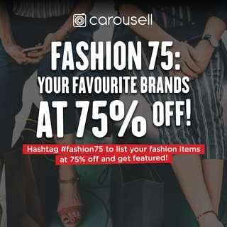 75% OFF Fashion