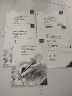 ABRSM Music Theory past papers grade 2
