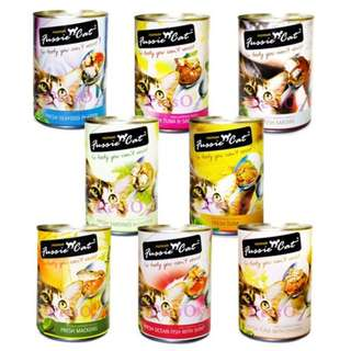 (5 Carton Promotion) Fussie Cat 400g (24 Cansx400g) Free Home Delivery