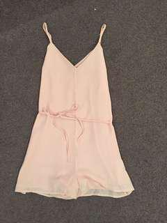 Light pink playsuit from cotton on, great quality, size small