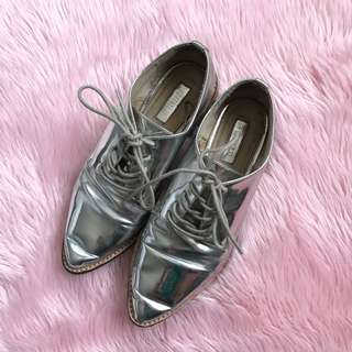 Metallic Brogues