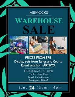 Airmocks Warehouse Sale