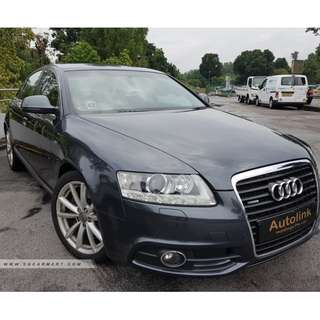 2010 Audi A6 S-Line 3.0 For Lease