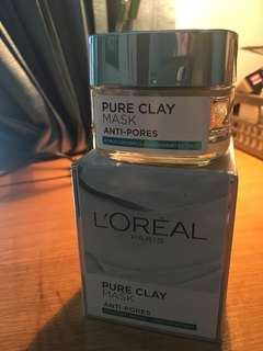 loreal anti pores mask