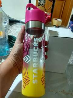 Botol Air Starbucks original