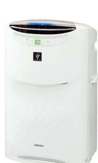 SHARP 聲寶加濕空氣清新機 Humidifying Air Purifier KI-AB60-W