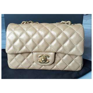 Authentic Chanel Classic Mini Rectangle Flap