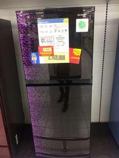 Kulkas sharp bisa credit tanpa kartu credit