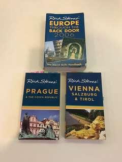 Travel books by Rick Steves