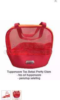 Tupperware tas pretty