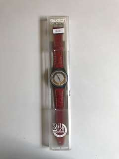 Swatch Red 24 Hours Watch
