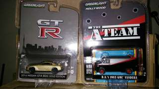 Greenlight skyline R35 Ateam van A-team