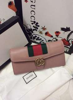 Authentic gucci long wallet