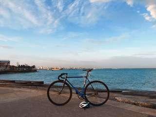 BRIDGESTONE FIXED GEAR (fixie) (bike)