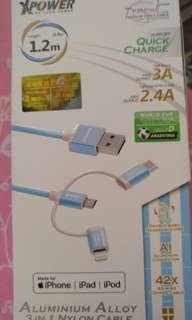Type c iPhone三合一充電線
