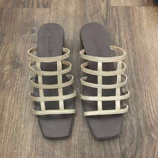 *REPRICED* Annie and Lori low heeled sandals