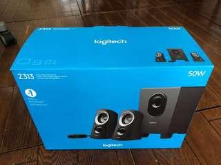 Logitech Z313 speaker 電腦喇叭