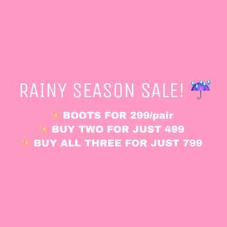 BOOTS FOR LESS!