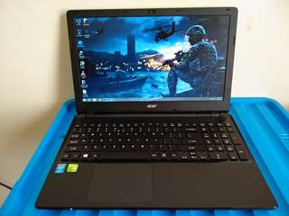 "Gaming / Editing - 15.6"" ACER Intel Core i7 Laptop - FULL HD - NVIDIA GeForce 840M VideoCard - 8GB RAM - 1TB HDD"