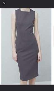 MNG Midi Grey Formal Dress
