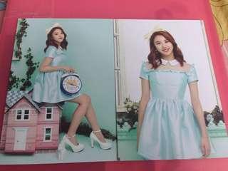 Twice  twiceland1巡 彩瑛postcard set