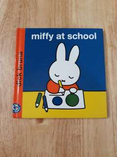 Miffy at school by Dick Bruna
