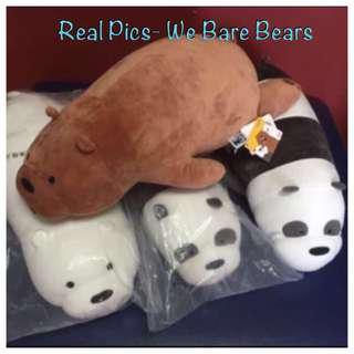 We Bare Bear Soft Toys
