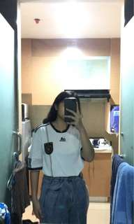White adidas jersey