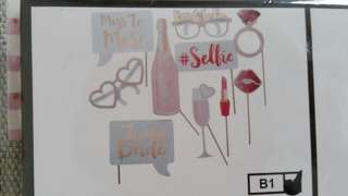 Photo Booth Props (Hens night)