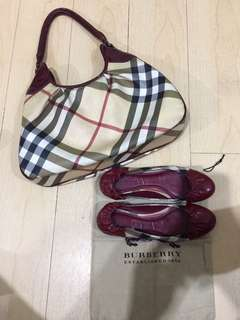 AUTHENTIC BURBERRY BAG & SHOES