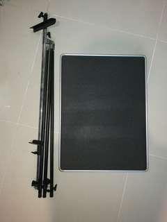 Drawing / Board Stand, Aluminum Metal Tripod