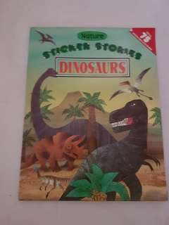 ⛤BN Dinosaurs Sticker Stories Book