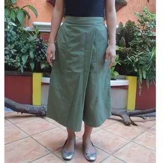Moss Green Square Pants