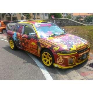 kereta autoshow untuk dijual