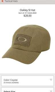 Original Oakley SI Hat (BNWT, Color: Coyote, Size: S/M)