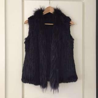 Navy fur / winter wear
