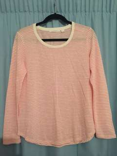 Pink stripes jumper