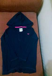 Hollister hoodie short-sleeved sweater (Authentic)