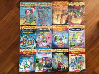Geronimo Stilton $5 each buy all 12 for $50