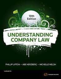 BSL305 Company law tutorial answer