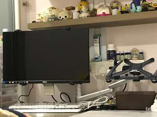dual Monitor mount and laptop mount stand