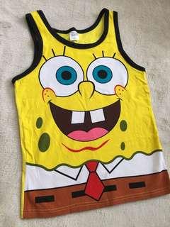 Spongebob Squarepants Stretchable Sando