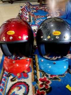Helmet magnum five button