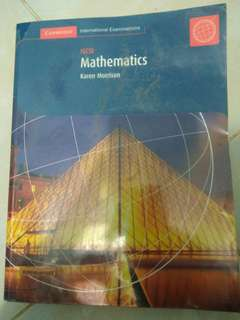 IGCSE Mathematics by Karen Morrison