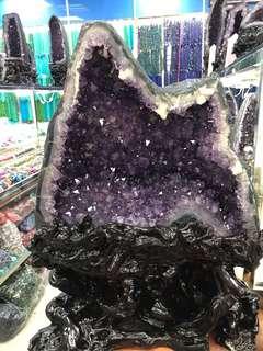 紫晶洞 招財進寶 好運 鎮宅之寶