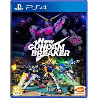 [NEW NOT USED] PS4 New Gundam Breaker Sony PlayStation Bandai Namco Action Games