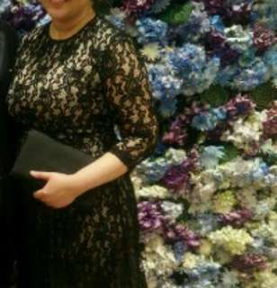 For rent: Black Evening gown/ dress for formal events