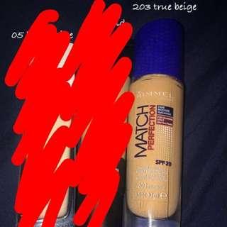Rimmel Mach Perfection - 203 true beige