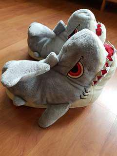 Jaws bedroom slippers from Universal Studio Japan