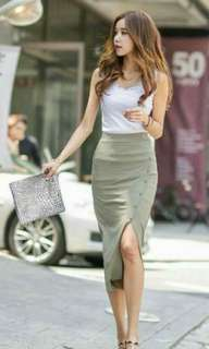 Bodycon skirt + top